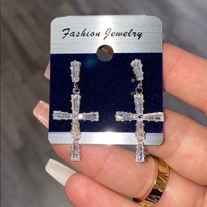 Gorgeous cross earrings